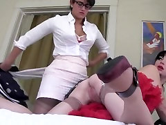 Horny Sorrority Sister Fucks Young College Girl 17th blowjob Strapon