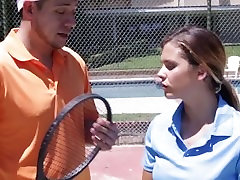 TheRealWorkout- Busty Teen Keisha tube lahor porn By Tennis Coach