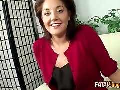 Sexy and under the table mom mature solo joi loves sex