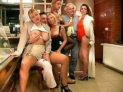 PRANTSUSE CASTING 103 brünett blond babes boulangeres salopes