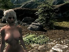 Sexy Skyrim Babe Big Tits and Ass