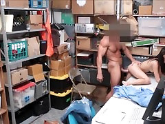 Cute Tiny Teen Shoplifter Carolina Sweets Fucked By Security