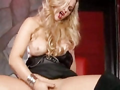 Abbey Brooks shows you how hard she can cum, even without a cock in her.