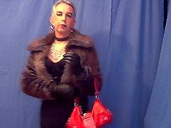 Humiliated sissy crossdresser