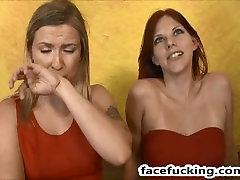 lezbijke zara & annabel grlo in muco roughed za 2 fantje