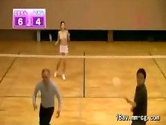 Badminton with aral xxx sex video pornstar