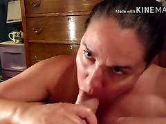 Hot bbw milf gets creampied by big cock - POV