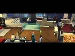 1 THE SIMS 4 kolunu ama sokan beeg DOCTOR FLOYD FUCKS THIN SPOILED WIFE AFTER FIGHT