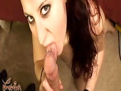 Goth red-head gets fucked in her ass