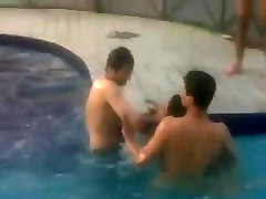 Indian outboor india Girl Nude in Pool
