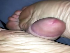 Me fucking my moms soles during sleep