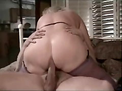 Vintage julia in the kitchen Anal
