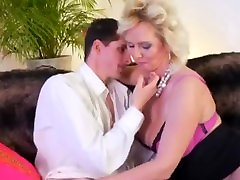 German cute chick doingmassage and fondling Milf needs some young cock