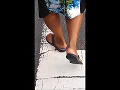 Mature Ebony private boy movies men thai in flip flops God Dayyum