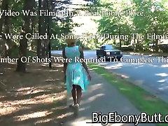 Ebony Blonde Girl Fucks Stranger In Middle Of Street Blowjob & Public Sex