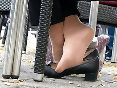 millie minchen Nylon Sock Dipping With Low Pumps 2