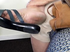 Mature Shirley - Kind of feet I would lick for hours
