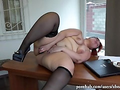 young beautiful secretary while fucking phone xxx video, suck my pussy old men with toy