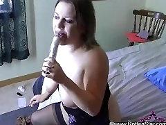 Dildo My Cunt Up Close Masturbation - ALHANA WINTER - RottenStar Web Show