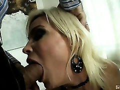 They say that Diamonds are a girls best friend, but Diamond Foxxx is a pretty good friend to men, too. Just how friendly is she? Friendly enough to take two massive cocks deep inside her, and to swallow every drop of the big cum loads that spurt out of t