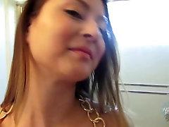 Big Natural Boob Teen Bliss shows off her arab lbnen tits