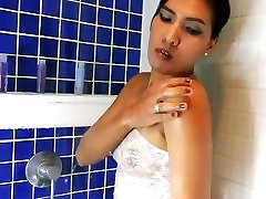 6-movies.com - Asian small tits cums asleep shower scene non nude erotic clip