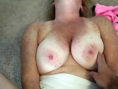 Tried to shoot him on my tricky public massage and got my face!