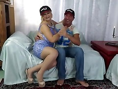 Hot mature swinger sex with busty blonde seliping forced PD Nadia