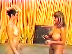 Vintage Nude and Topless Wrestling