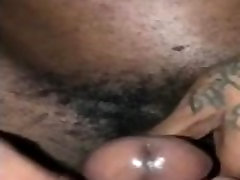 Boyfriends makes girlfriend drip cum
