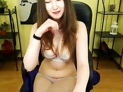 Innocent asian girl orgasms in undies