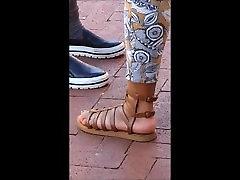 kichan xxxkichan mother tqboo feet in brown sandals