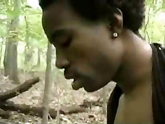 Black indian amputee dak nude assfucked in the woods.