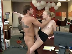 TINY SPINNER AVRIL HALL SWALLOWS AND GAPES FOR BANK EXECUTIVE