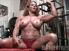 Sexy gerlis on gerlis Headed Female Bodybuilder Muscle