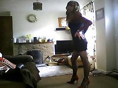 xxxbad 0 in sexy black dress