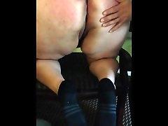 Bbw ass spanking