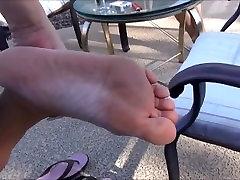 52yo Mom Feet Size 10