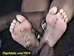 Ticklish feet