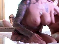 Big tit lesbians tit play and tit fuck.