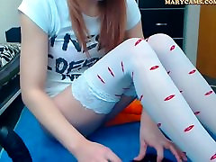 Cam Girl Pussy And Anal Dildo