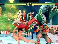 Street Fighter V yuni shara indo Battles 2 Chun Li vs Ryu