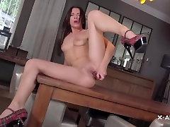 solo masturbation Lady In Red X-ART 1080p