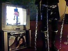 PUNK SLAVE GIRL SASKIA PLAYS GOLF