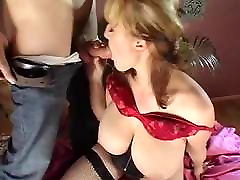 Huge Soft Saggy Tits Fucked in Stockings