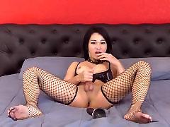 Ladyboy Maya Masturbating