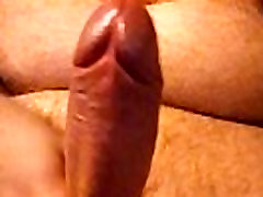 jacking off solo and busting a huge load of cum