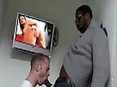 Blacks On Boys - Gay Rough Interracial Fuck Movie 05