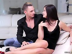 Swingers meeting with Little Caprice