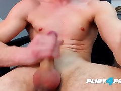 Bruce Larsen on Flirt4Free - gert virgin Dicked Stud Spreads His Ass and Gets Off